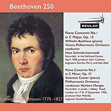 Beethoven 250 Piano Concertos 1 and 3