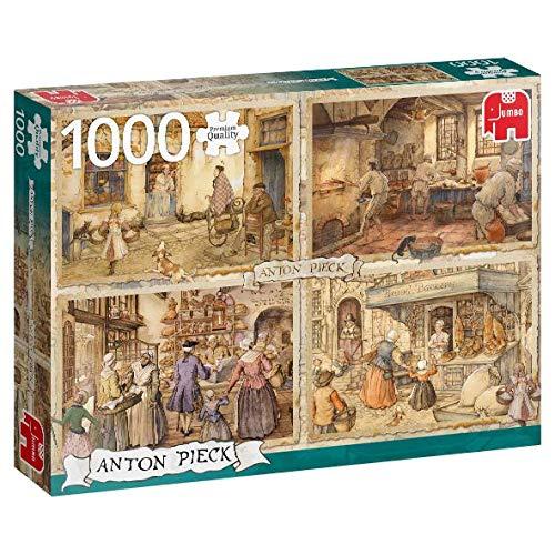 Premium Collection 18818 Anton Pieck-Bakers del Siglo XIX Rompecabezas de 1000 Piezas, Multi