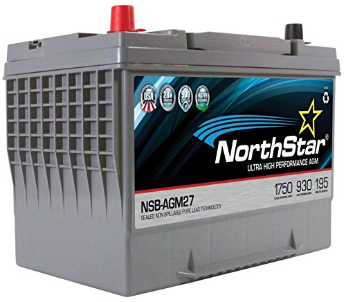 NORTHSTAR Pure Lead Automotive Group 27 Battery NSB-AGM27