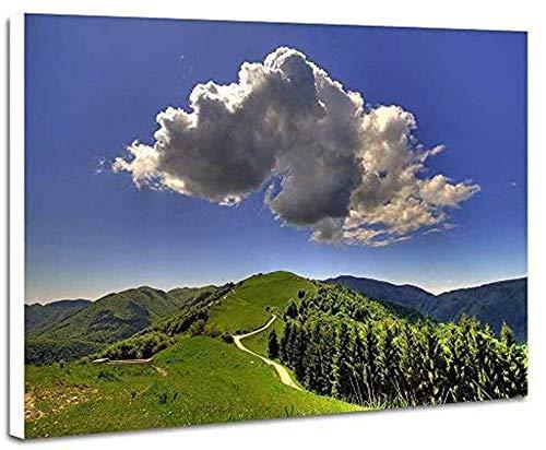Puzle de 1000 piezas, diseño de los Alpes, nubes oscuras, puzle para adultos, 1000 piezas