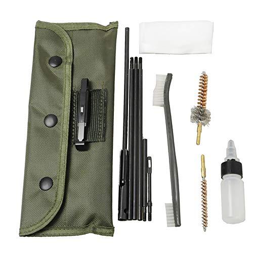 Funpower Rifle Gun Cleaning Kit Set Pistol Brushes Cleaner for 5.56mm .223 22LR .22 Cal