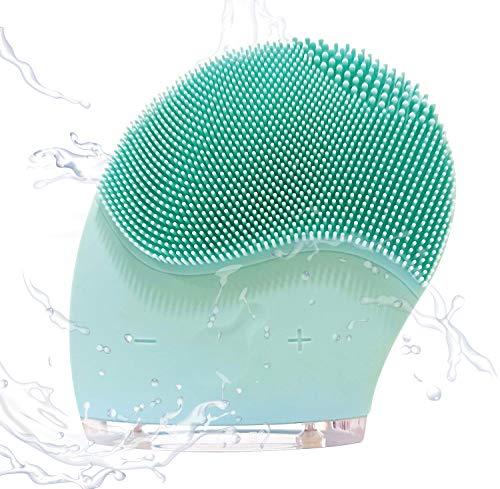Cepillo de limpieza Facial Cleanlight, Limpiador Facial de silicona Eléctrico. Cepillo facial de silicona Ultrasónico de 7000 RPM, Cepillo exfoliante de limpieza Profunda Impermeable,