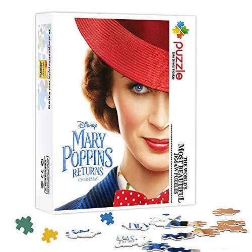 zhangkk Puzzle da 1000 Pezzi per Adulti Il Ritorno di Mary Poppins : Mary Poppins Puzzle per Famiglia, Puzzle di Cartone, Giochi Educativi, Puzzle Brain Challenge per Bambini Bambini