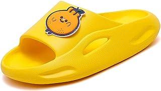 Kids Shower Slides Boys Girls Sandals Beach Pool Non-Slip Slippers Summer Water Shoes(Toddler/Little Kid/Big Kids)
