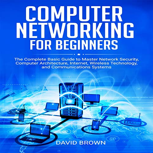 Computer Networking for Beginners audiobook cover art