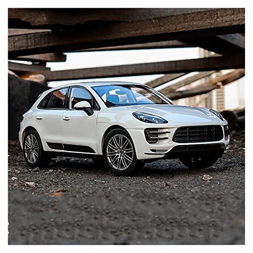 HCEB Coche Fundido Modelo 1:24 para Porsche Coche Blanco aleación Modelo Coche simulación decoración Coche colección Regalo Juguete Modelo fundición a presión niño Coche Juguete (Color : 1)