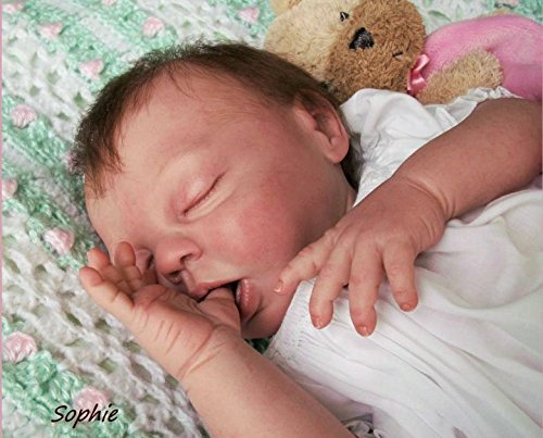 Believable Babies' Sleeping Sophie Reborn Girl- Doll Therapy for People with Memory Loss with Aging, Special Needs Adults & Children