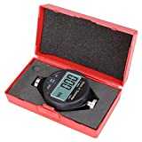 0-100 ° Digital 100HD A Durometro Shore Tester di Durezza in Gomma 0.1 ° Valore di Divisione Durometro per Pneumatici Display LCD Meter