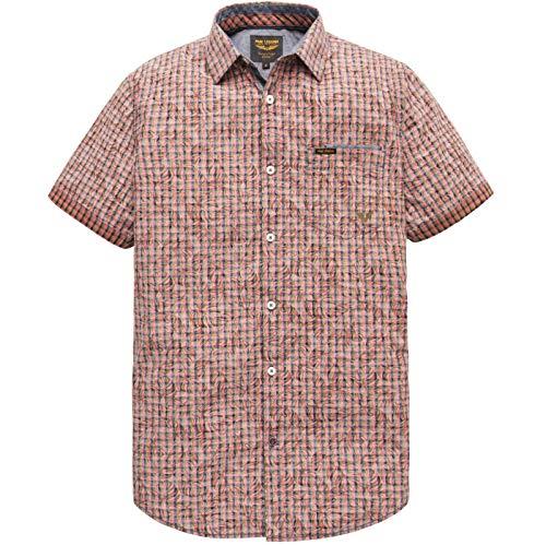 PME Legend Short Sleeve YD Check All-ov shirt