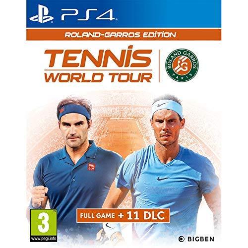 Tennis World Tour Roland-Garros Edition for PlayStation 4 [Edizione: Regno Unito]