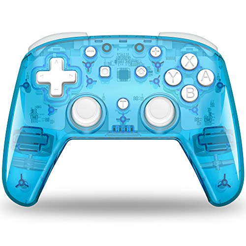 BEBONCOOL Switch Controller, Wireless Controller for Nintendo Switch/Switch Lite, Switch Pro Controller with Lights, Turbo,Vibration,Motion Control for Nintendo Switch Controller