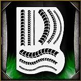 Biomech 3 AirSick Airbrush Stencil Template