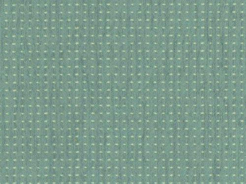RaumTraum Landhausstil Möbelstoff Isola di Monte Farbe 116 (blau, hellblau, beige) - Flachgewebe (Geometrisch,Punkte), Polsterstoff, Stoff, Bezugsstoff, Eckbank, Couch, Sessel, Hussen, Kissen