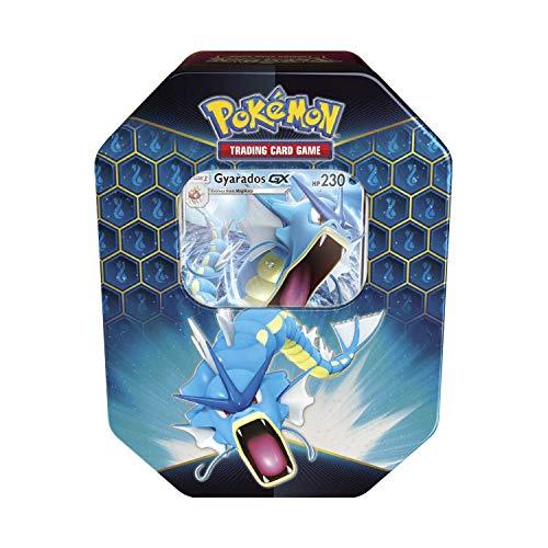 Pokemon Hidden Fates Gyarados GX Collectors Tin | Inc Booster Packs & Promo Card