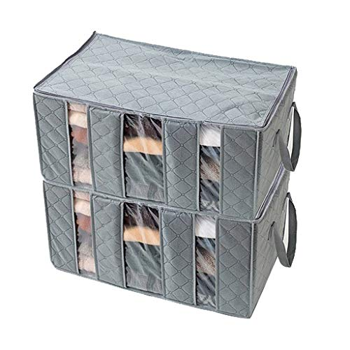 WXHNY Foldable Storage Bag 3 Sections Perfect for Clothes Blankets Bedrooms Lightweight and Portable Economic Deal Best Room for Your Item