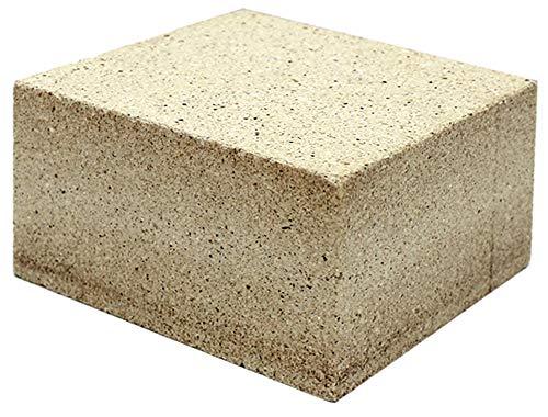 耐火レンガ JIS並形 半マス 1ケース(10個入)サイズ約11.4×11.4×6.5cm 1個の重さ(約)1.8kg