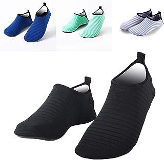 Tickas Unisex Water Shoes,Men Women Water Shoes Aqua Socks Anti-Slip Breathable Lightweight Soft Barefoot Yoga Surfing Swimming Shoes