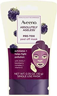 Aveeno Absolutely Ageless Mask Peel Off Pre-Tox 0.35 Ounce (12 Pieces)