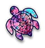 Vinyl Junkie Graphics 3 inch Sea Turtle Sticker for Laptops CupsTumblers Cars and Trucks Any Smooth Surface (Cotton Candy)
