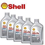 Lubrificante Shell Helix HX8 Synthetic 5w-40 - olio motore auto nuova generazione - 5 latte da litro