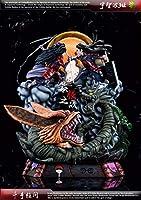 【 BL STUDIOS】ナルト NARUTO フィギュア マダラVS柱間 完成品 検索:POP リペイント 一品物 WCF GK