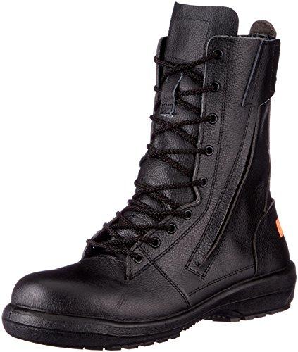 [ミドリ安全] 静電安全靴 JIS規格 消防仕様 長編上靴 ラバーテック RT731F 消防 P-4 静電 メンズ ブラック 26.0(26cm)