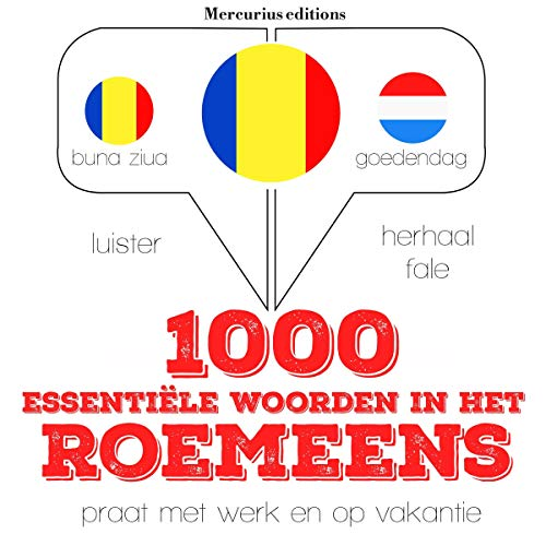 1000 essentiële woorden in het Roemeens  By  cover art