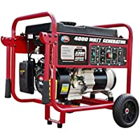 All Power 4000 Watt Gas Portable Home Use Generator