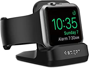 Spigen S350 Designed for Apple Watch Stand with Night Stand Mode for Series 5 / Series 4 / Series 3/2 / 1 / 44mm / 42mm / 40mm / 38mm, Patent Pending - Black