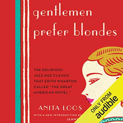 Gentlemen Prefer Blondes audiobook cover art
