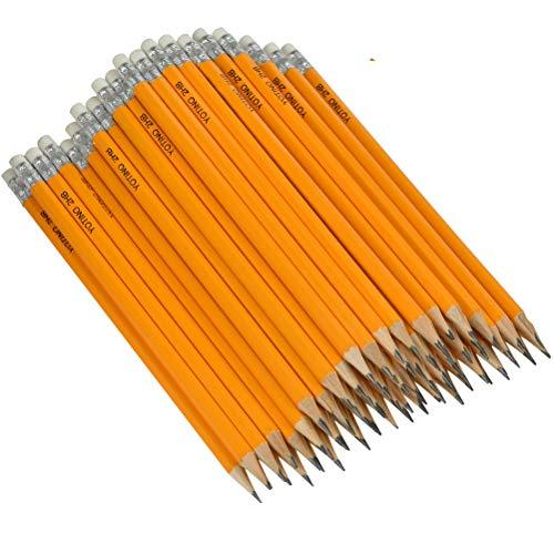 YOTINO -100er-Pack Holzgefasste vorgespitzt, HB,Bleistifte,