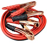 VRT Premium Car Heavy Duty Booster Cables|| Auto Battery Booster 2.21 Meter || Clamp to Start Dead...