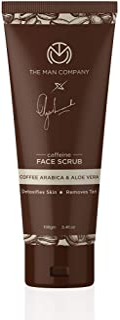 The Man Company Caffeine Face Scrub for exfoliation and Moisturization with Coffee Arabica and Aloe Vera - 100 ml