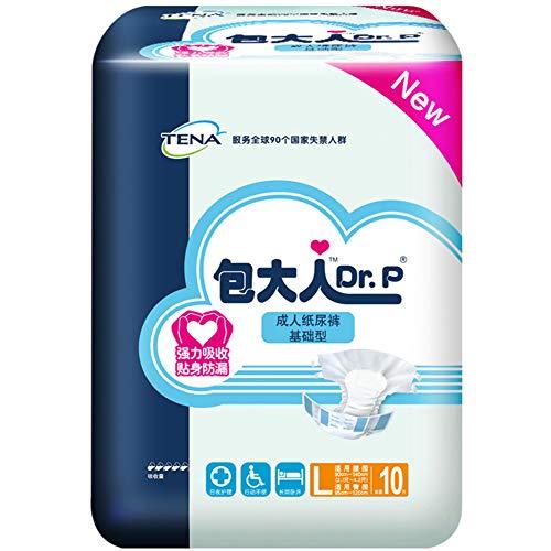 Yiwa 10 stuks Super Absorbency broek volwassenen kinderen school sanitair comfort luier