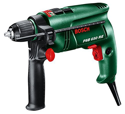 Bosch PSB 650 RE drill Schlüssel 3000 RPM 1,7 kg - Drills (3000 RPM, 1,2 cm, 1,4 cm, 3 cm, 9 Nm, 48000 BPM)