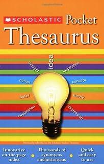 Scholastic Pocket Thesaurus