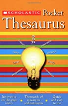 Scholastic Pocket Thesaurus (Scholastic Reference)