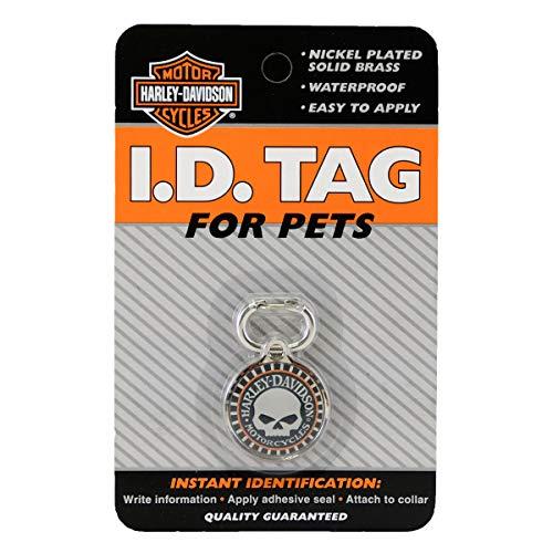 Harley-Davidson Willie G Skull Black Pet ID Tag