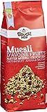 BauckHof Muesli de Avena con frutas secas - 6 Paquetes de 450 gr - Total: 2700 gr