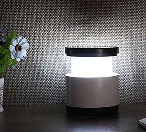 SZ&LAM Lumière de Nuit télescopique Lampe de Table à LED Extensible créative Lampe de Chevet USB Lampe de Table Éclairage extérieur Lumière de Nuit pour Enfants, Black
