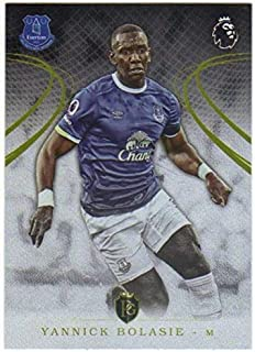 2016-17 Topps Premier Gold EPL Soccer #86 Yannick Bolasie Everton
