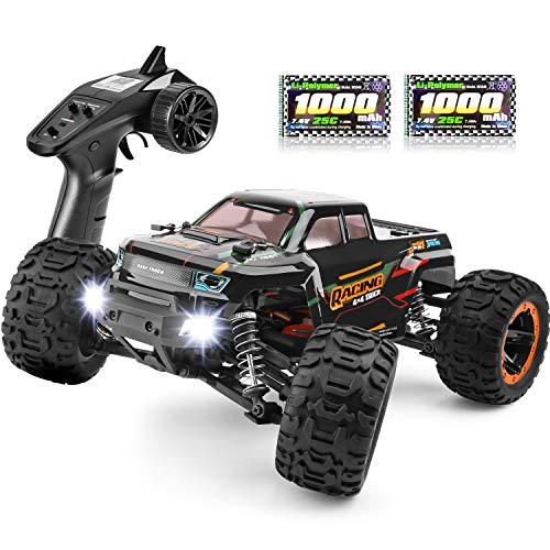 HAIBOXING Coche teledirigido 4WD 1:16 RC Monster Truck, teledirigido eléctrico, todoterreno, 2,4...