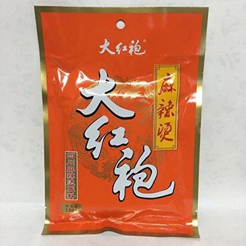 大紅袍四川麻辣?調料 鍋の素 激辛中華スープの素 四川風味 150g