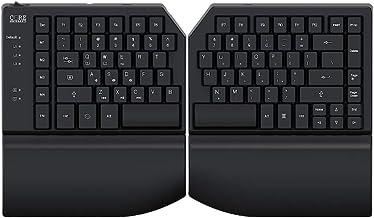 CORE MECHANICS Split Mechanical Keyboard – 1 MS, All Keys Programmable, 3 Programmable Layers 4 Macro Keys, Ergonomic, Dur...