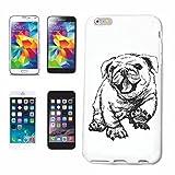 Reifen-Markt Hard Cover - Funda para teléfono móvil Compatible con Samsung Galaxy S3 Mini MOPS Vendimia cría de Perros Cuidado Entrenamiento de la casa Perros PERR