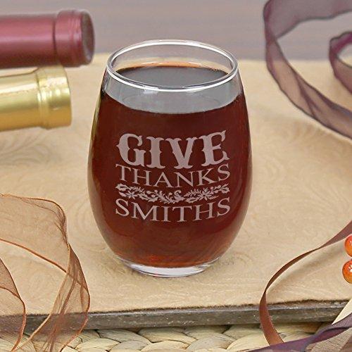 Weinglas, personalisierbar, ohne Stiel