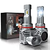 9005 HB3 LED Headlight Bulbs, CAR ROVER 55W 10000Lumens Plug-N-Play Extremely Bright 6500K ZES Chips Conversion Kit