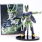 Dragon Ball Z Cell Goku Battle Soldiers Awakening Ultimate Shape 22cm DBZ Cell Brush PVC Action Figure Collection