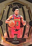 2018-19 Panini Select COLLIN SEXTON Premier Level Rookie Basketball Card - Cleveland Cavaliers. rookie card picture