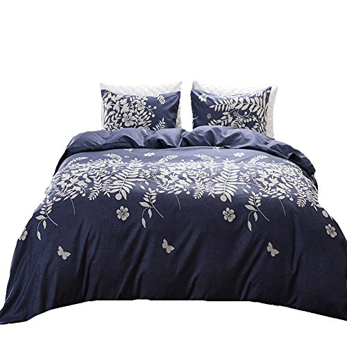 Black Temptation Inicio Impreso Soft Hotel Duvet Cover Set 2PC Twin Size #147